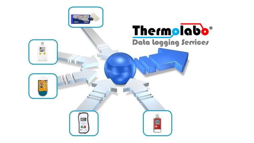 les différents data loggers gérés par Thermolabo