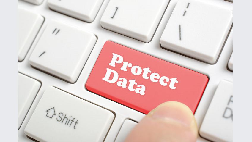 clavier de protection des données